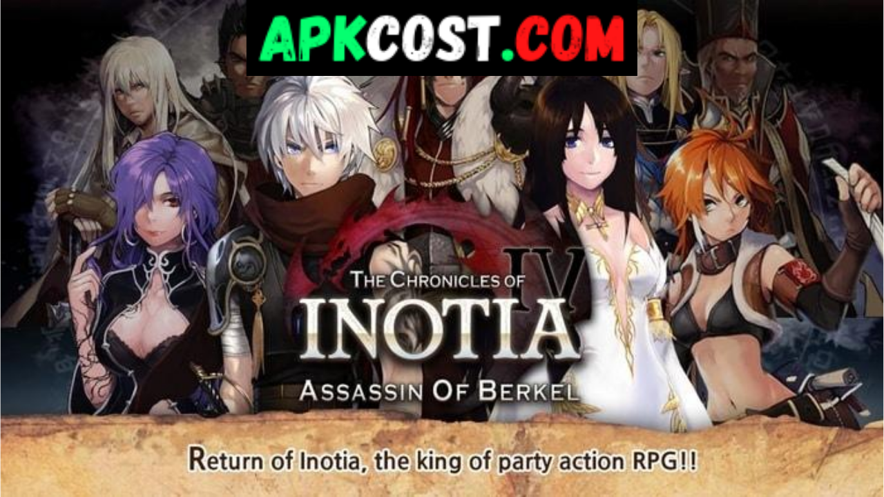 Inotia 4 MOD APk Download v1.3.1 (Unlimited Money/Skill Points) Android